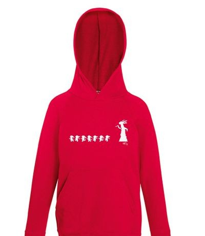 Kids Lightwight Hooded Sweat