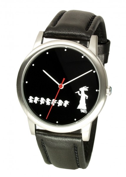 Horrorwittchen-Uhr Ø 42mm