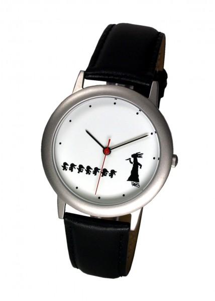 Horrorwittchen-Uhr Ø 35mm